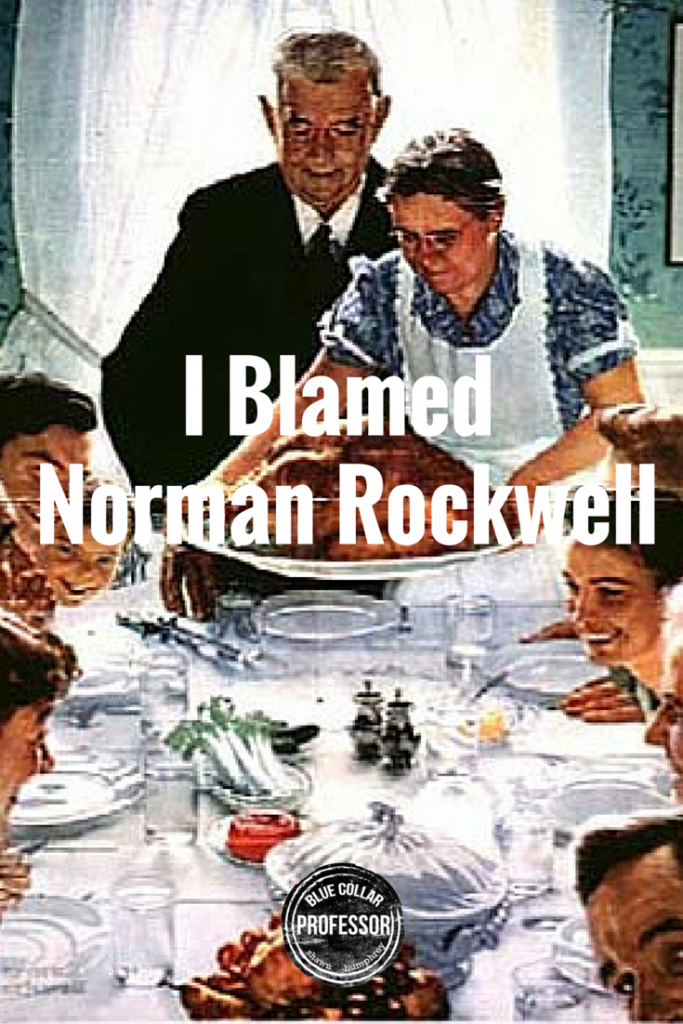 I Blamed Norman Rockwell - p